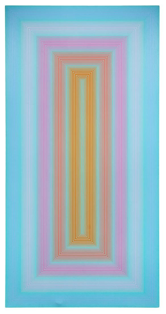 Richard Anuszkiewicz (American, b. 1930) Icy, 1971