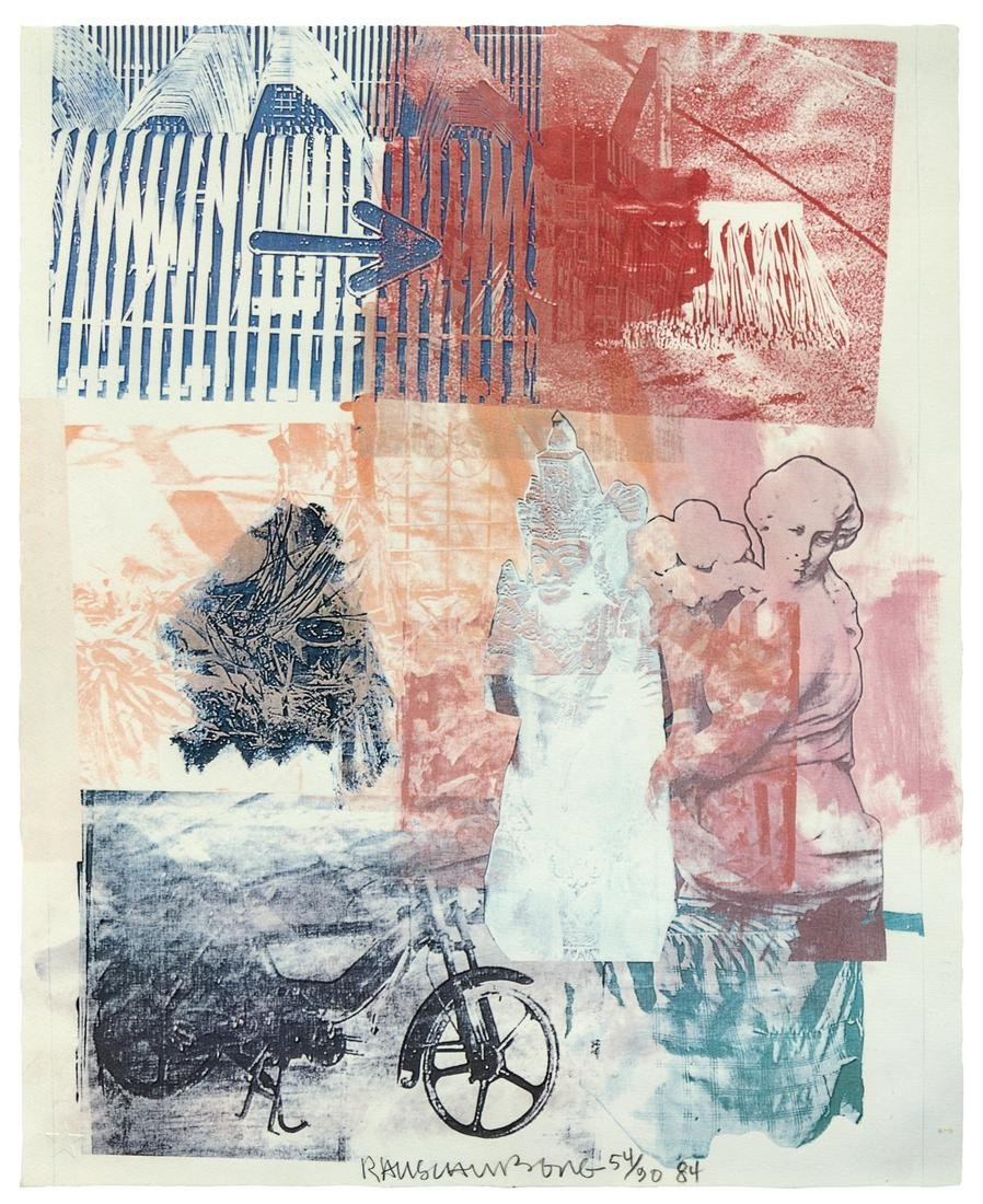 Robert Rauschenberg (American, 1925- 2008) Untitled
