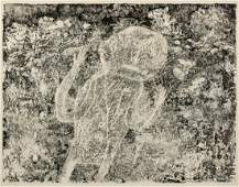 Jean Dubuffet French 19011985 Le Braconnier 1953