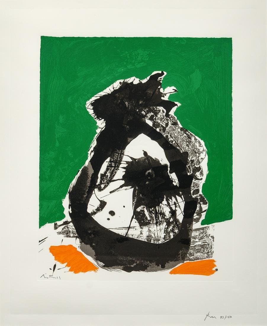 Robert Motherwell (American, 1915-1991) Untitled B