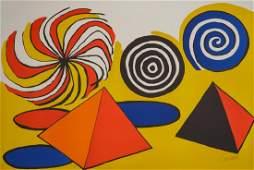 Alexander Calder (American, 1898-1976) Pinwheels and