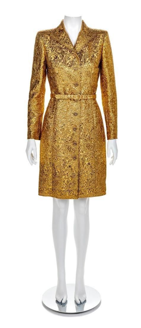 Emanuel Ungaro Coat Dress, 1990s-2000s Size label: 6