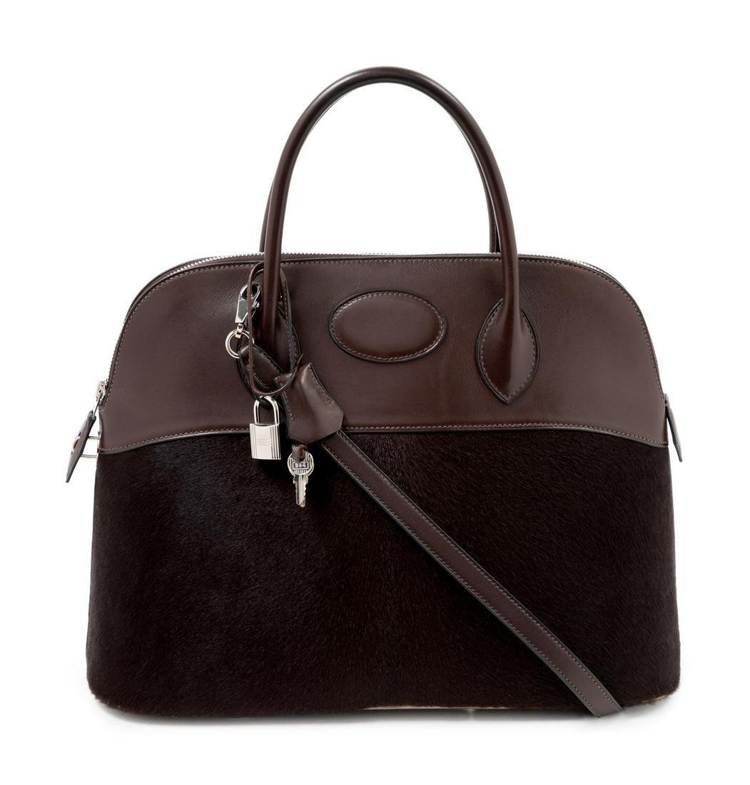 "Hermes Bolide 27cm Handbag, 2007 16"" x 12"" x 6.5"";"