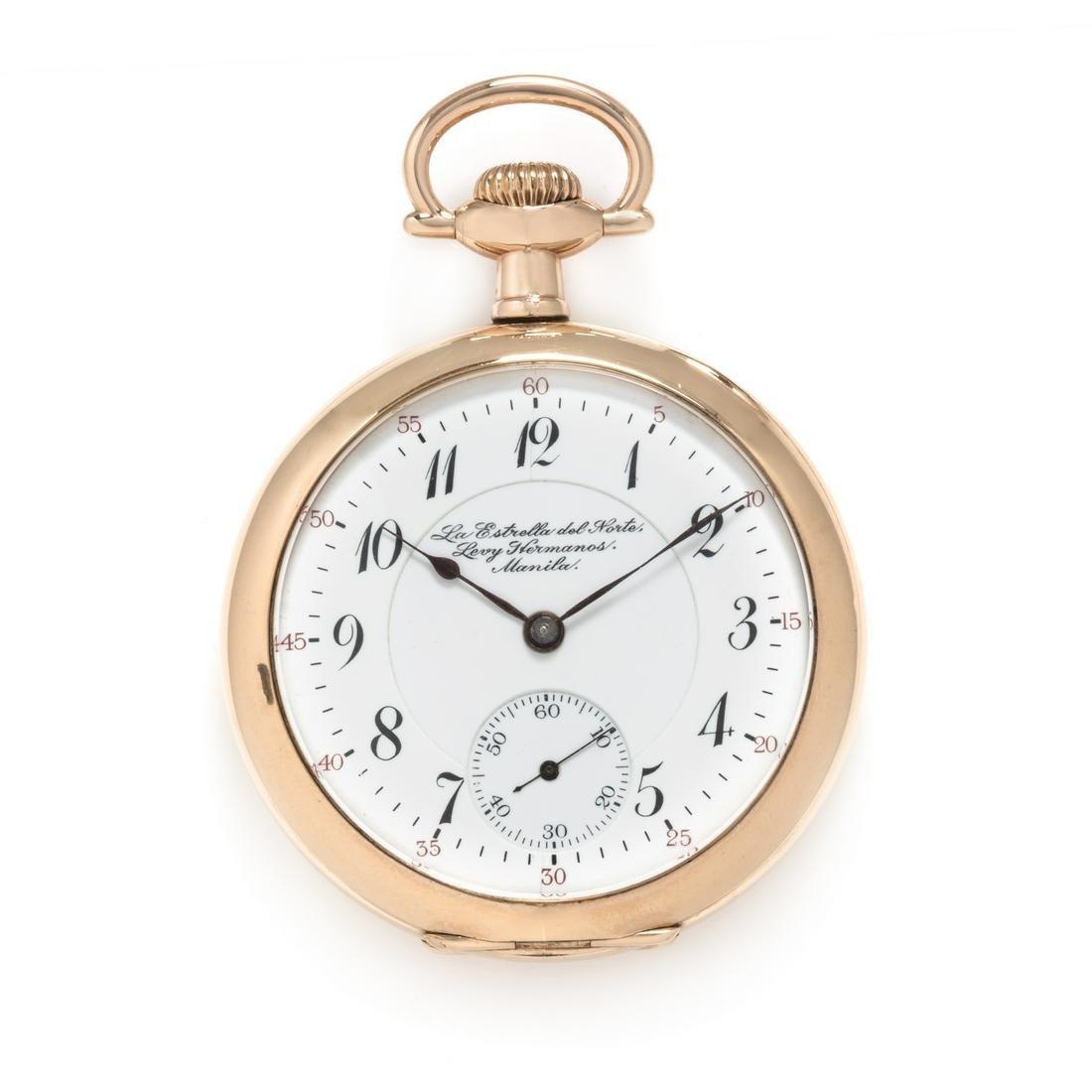 Hamilton Watch Co. for Levy Hermanos La Estrela del