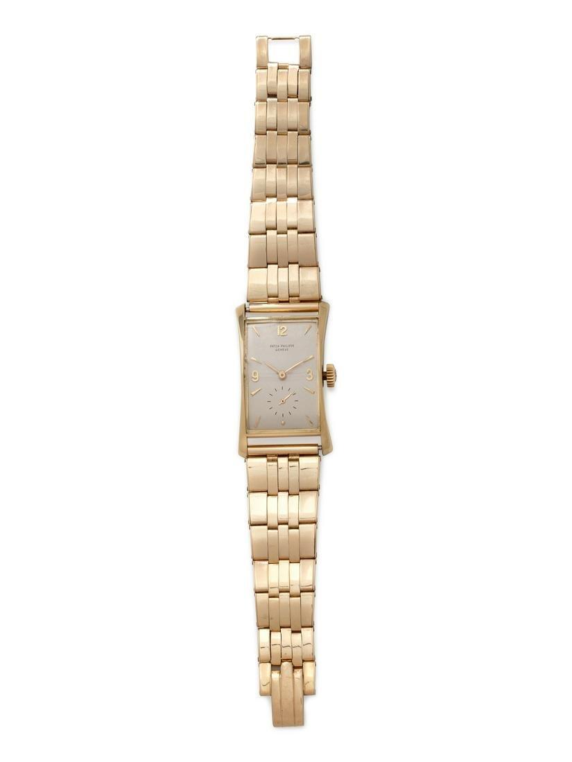 Patek Philippe, 18K Yellow Gold Ref. 1593 Wristwatch