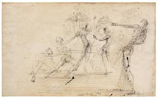 Salvador Dali (Spanish, 1904-1989) Sketches of