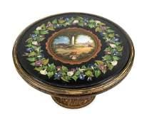 An Italian Micro Mosaic Marble Top Coffee Table