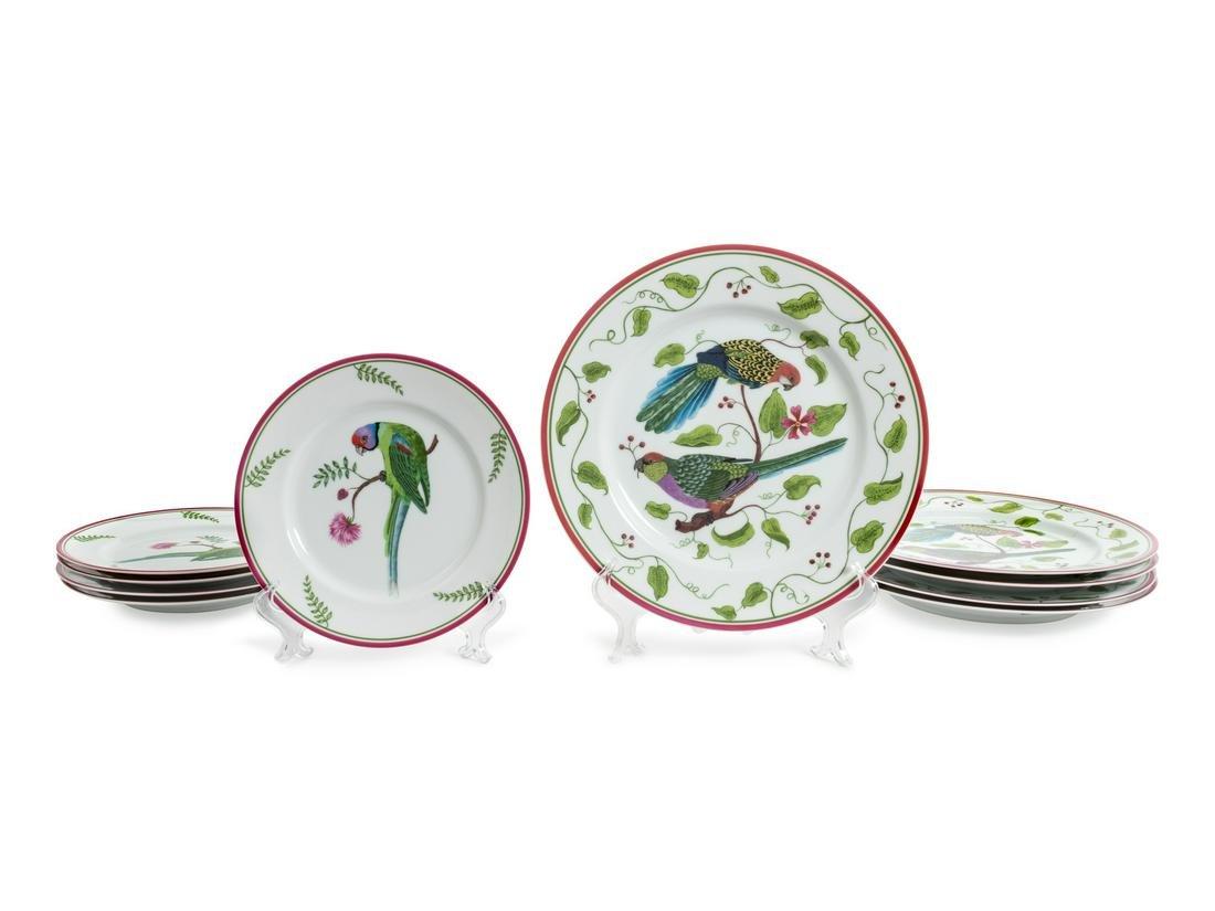 A Lynn Chase Porcelain Partial Dinner Service 20TH