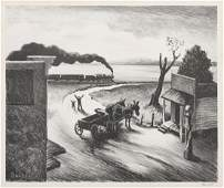 Thomas Hart Benton American 18891975 Edge of