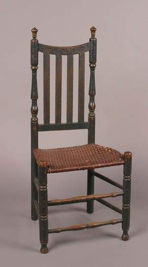 A William and Mary Style Painted Side Chair,