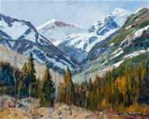 Steve Elliott (American, b. 1943) Landscape