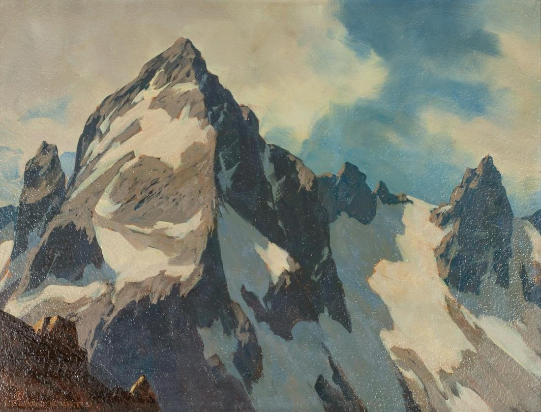 Leland Curtis  (American, 1897-1989) Untitled