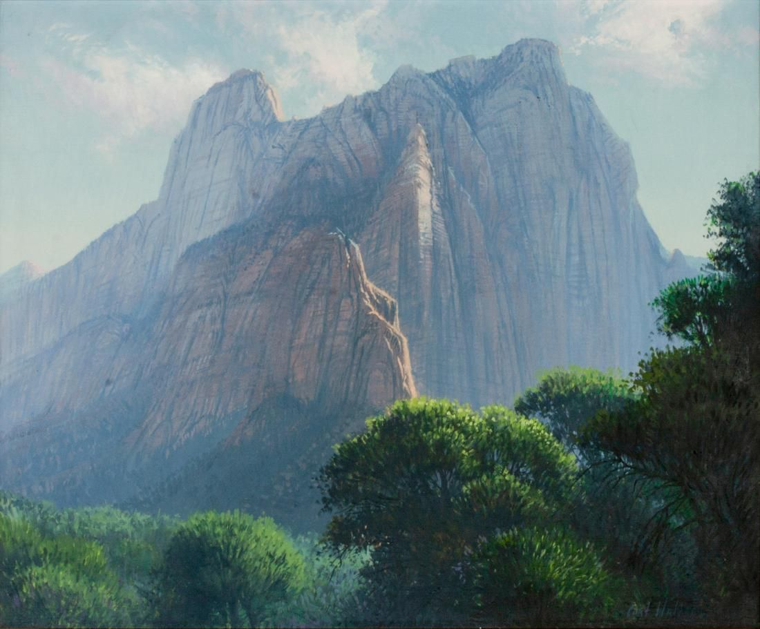 Curt Walters (American, b. 1950) Zion Afternoon, 1978