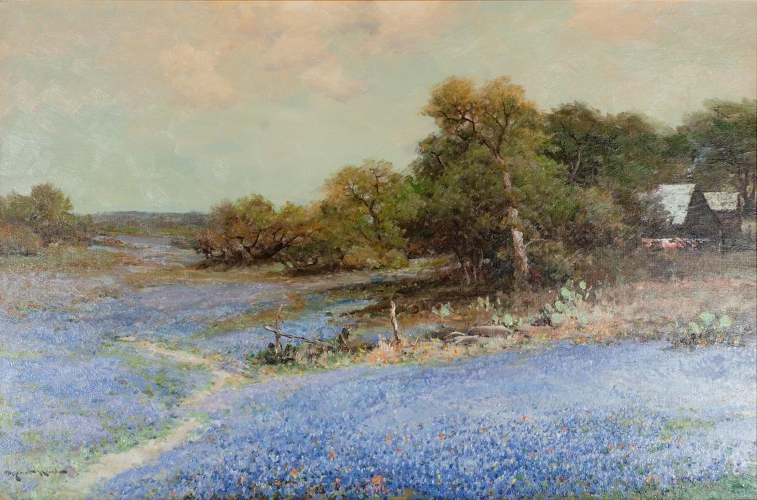 Robert Wood (American, 1889-1979)  Floral Path