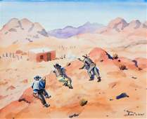 Leonard Howard Reedy (American, 1899-1956) Besieged by