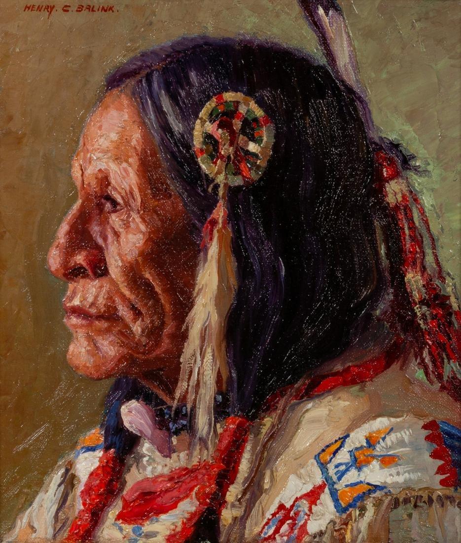 Henry C. Balink (American, 1882-1963) Chief Yellow