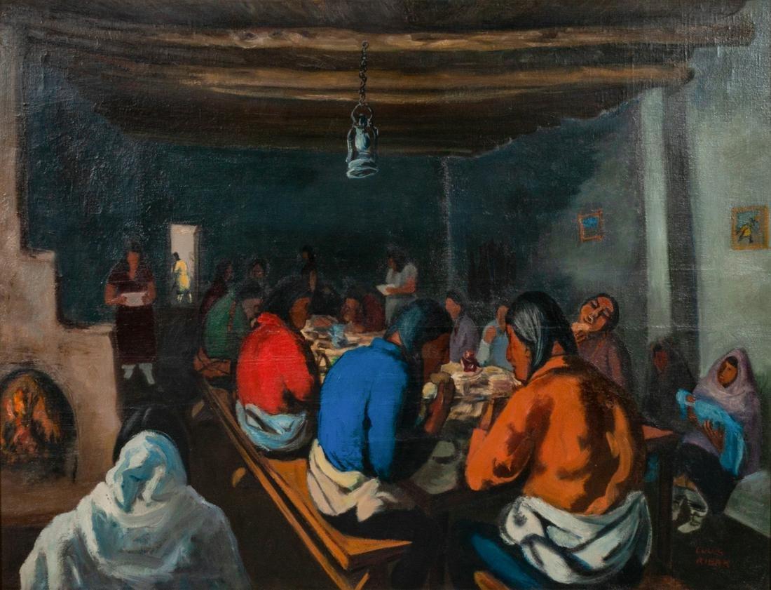Louis Ribak  (American, 1902-1979) Untitled