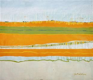 Fritz Scholder (American, 1937-2005) New Mexico #41,