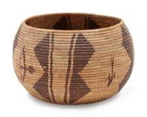 Panamint Pictorial Basket height 5 x width 8 inches