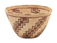 Panamint Polychrome Basket height 6 1/2 x diameter 10