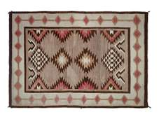Two Navajo Regional Rugs largest 71 x 54 inches