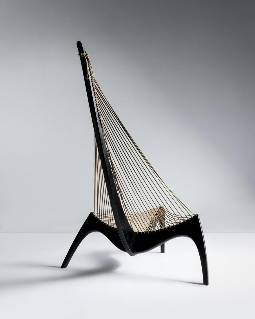 Jorgen Hovelskov  Harp Chair Christensen & Larsen,