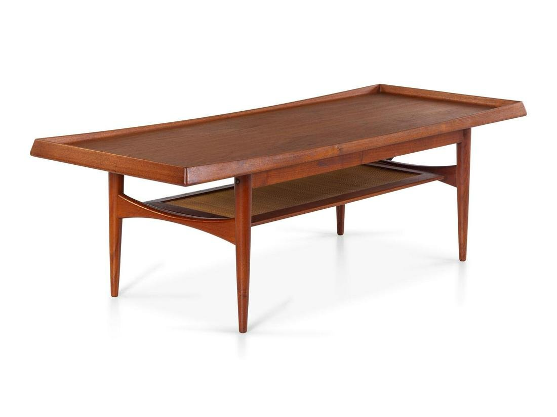 Grete Jalk, Attribution  Coffee Table with Lower