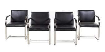 Ludwig Mies van der Rohe   Set of Four Brno Chairs