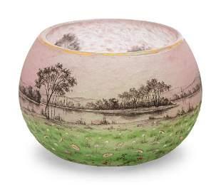 Daum France, Early 20th Century A Daum Vase