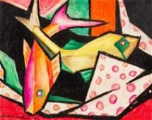 Louise Dunn Yochim (American, 1909-2003) Untitled