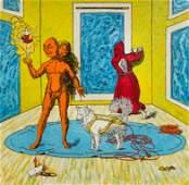 Jane Hammond (American, b. 1950) Untitled, 1991