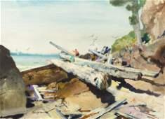 Roy Martell Mason American 18861972 Untitled