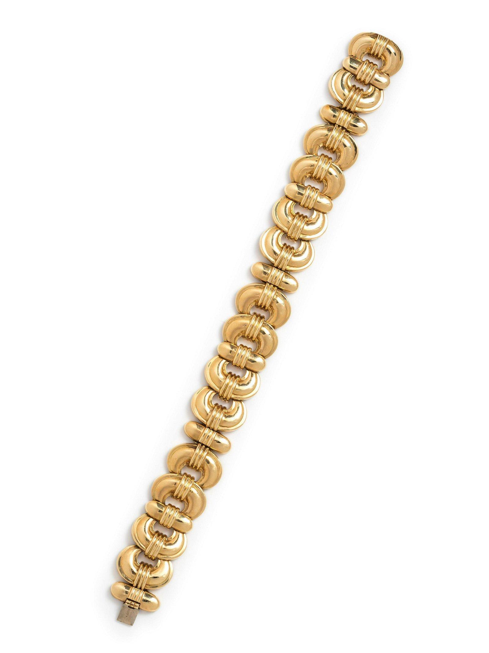 Susan Berman, Gold Link Bracelet