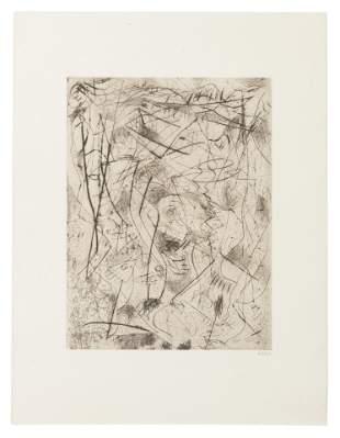 Jackson Pollock (American, 1921-1956) Untitled,