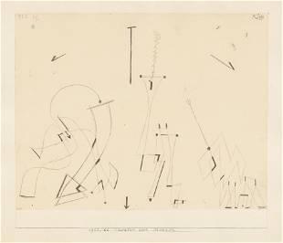 Paul Klee (German, 1879-1940) Theatre der Masken, 1922