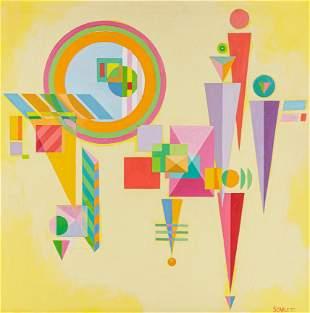 Rolph Scarlett (Canadian/American, 1889-1984) Untitled,