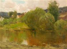 Charles Warren Eaton (American, 1857-1937) Landscape