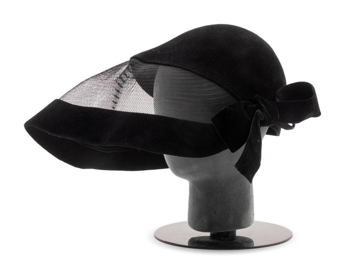 Two Pierre Cardin Hats, One Amy Downs Hat, and One