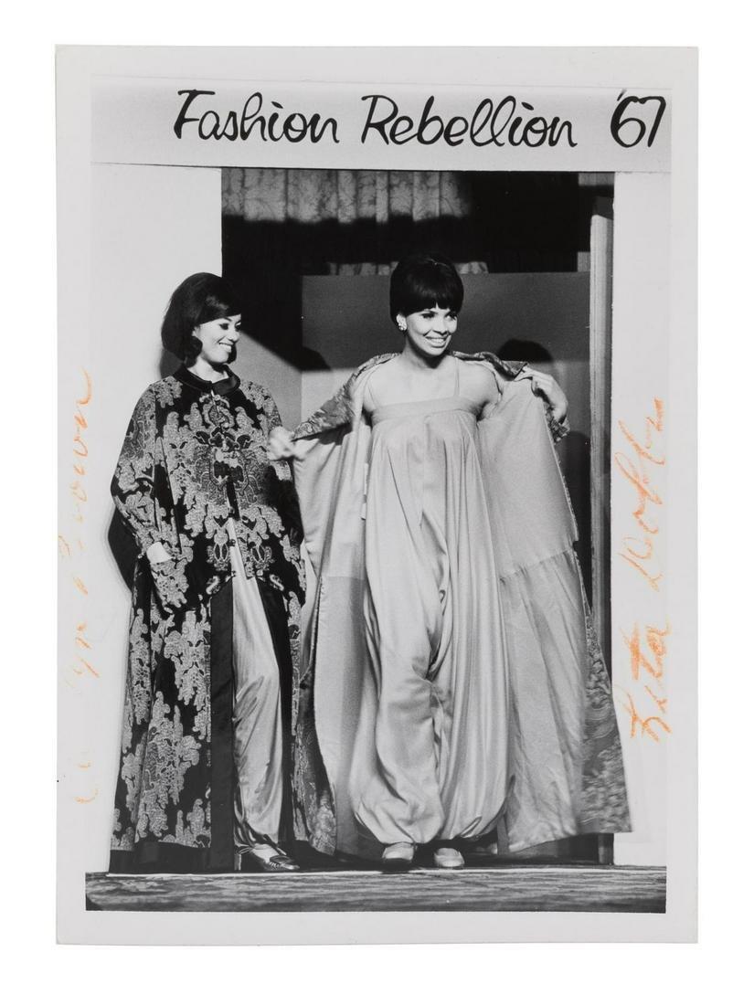 Five 1960s Photographic Prints of Ebony Fashion Fair