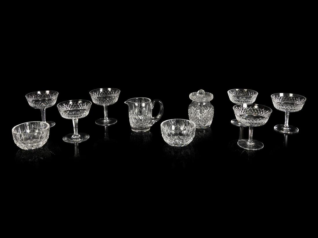 A Set of Six Waterford Cut Glass Sherbets