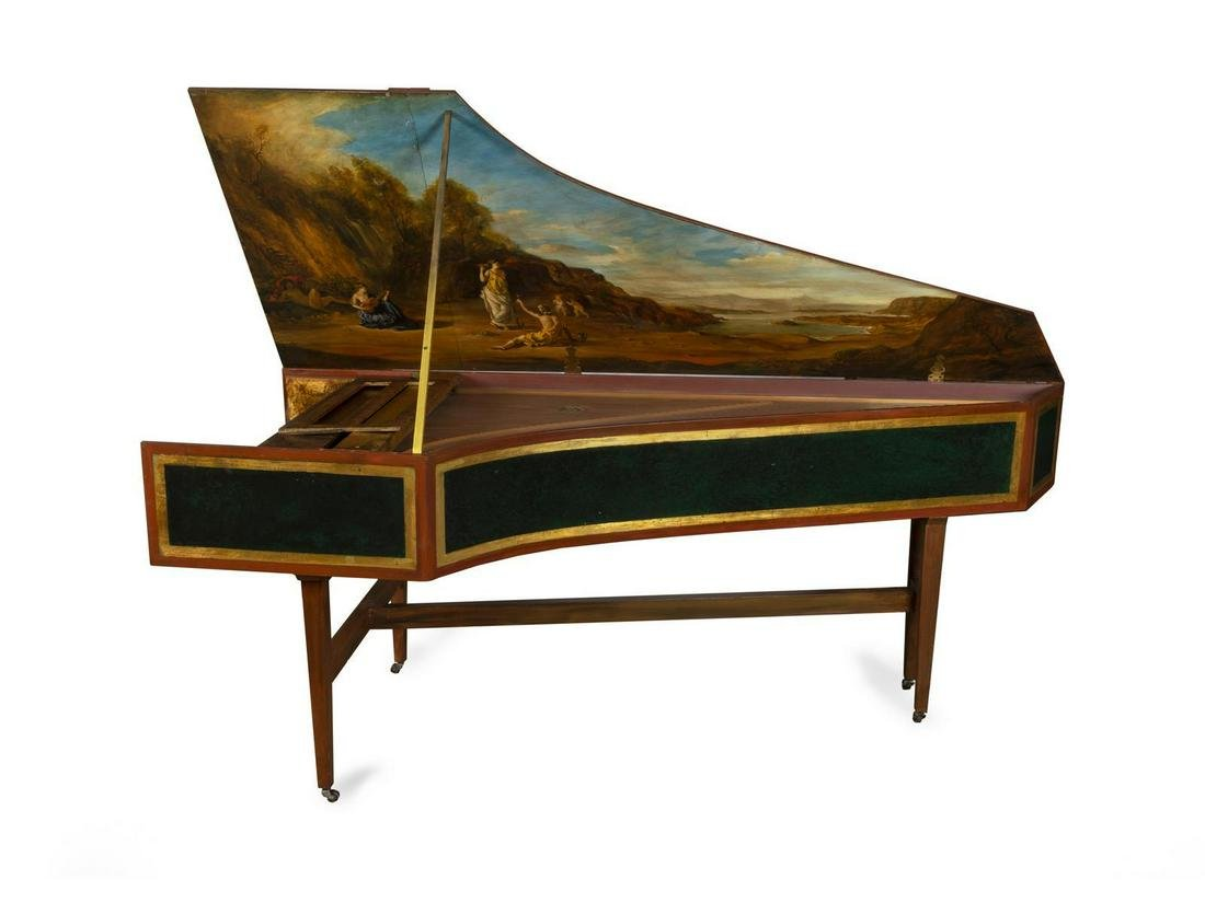 A Hubbard Double Manual Harpsichord after Henri Hemsch