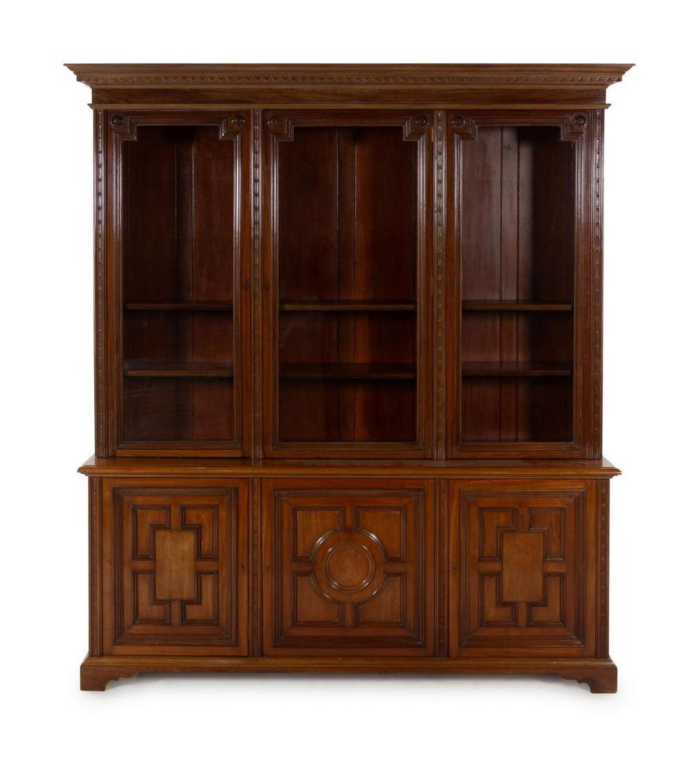 A William IV Style Mahogany Bookcase
