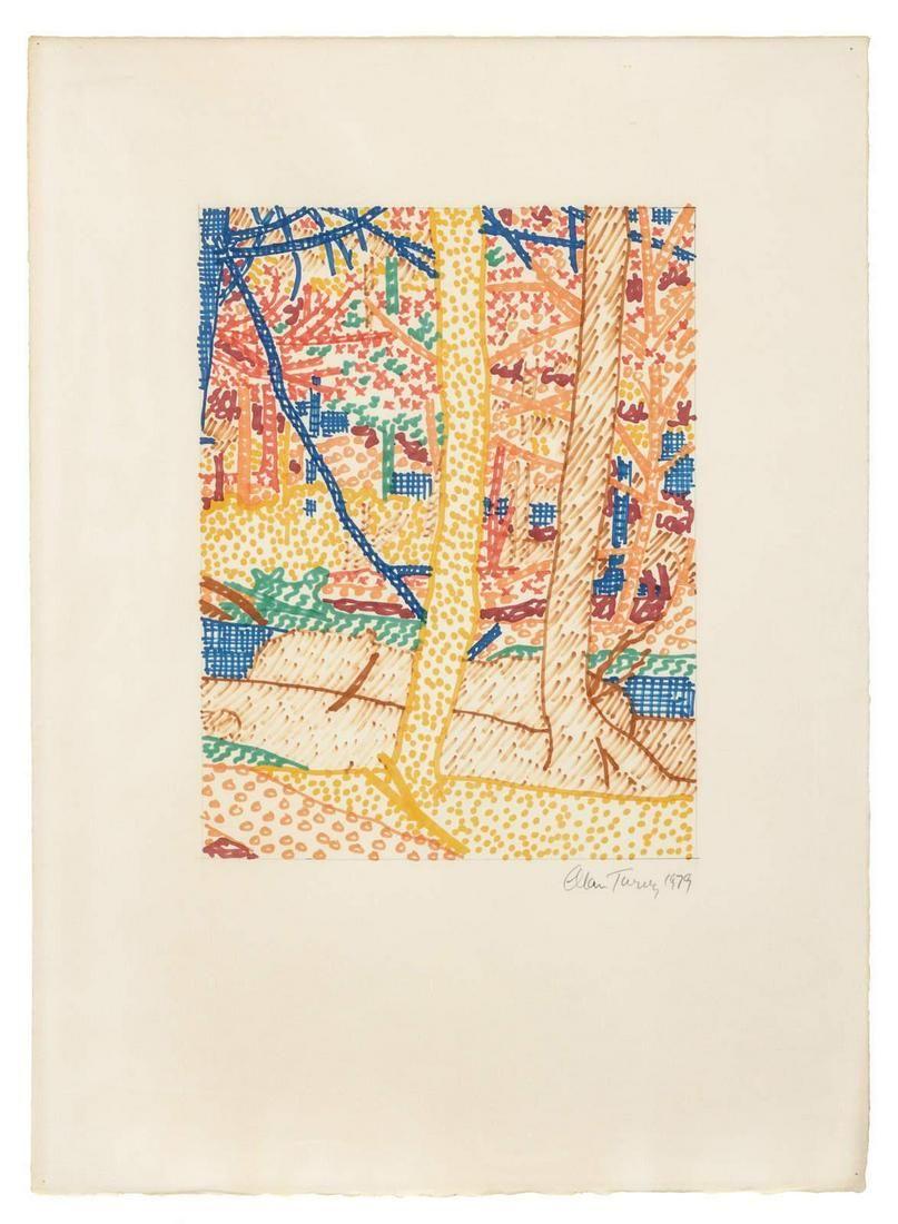 Alan Turner (American, b. 1943) Spring, Summer, Fall,