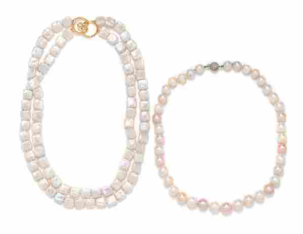 COLLECTION OF CULTURED PEARL NECKLACES