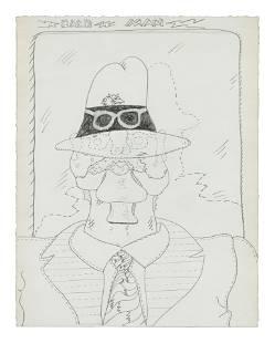 Jim Nutt (American, b. 1938) Back Man (Study for Back