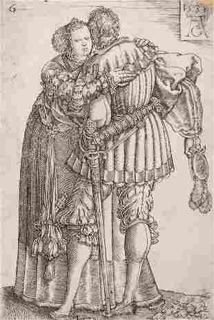 Heinrich Aldegrever (German, 1502-ca. 1561) Wedding