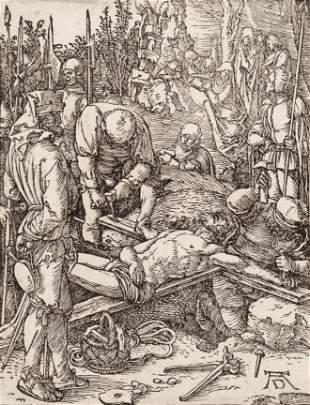Albrecht Durer (German, 1471-1528) Christ Nailed to the