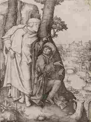 Lucas van Leyden (Dutch, 1494-1533) Susanna and the Two