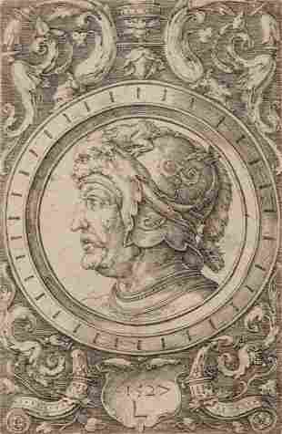 Lucas van Leyden (Dutch, 1494-1533) Ornament with the