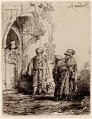 Rembrandt Harmenszoon van Rijn (Dutch, 1606-1669) Three
